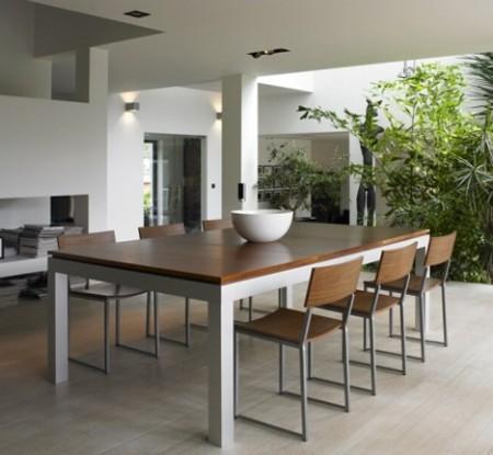 Fusion table, table de salon transformable en table de billard