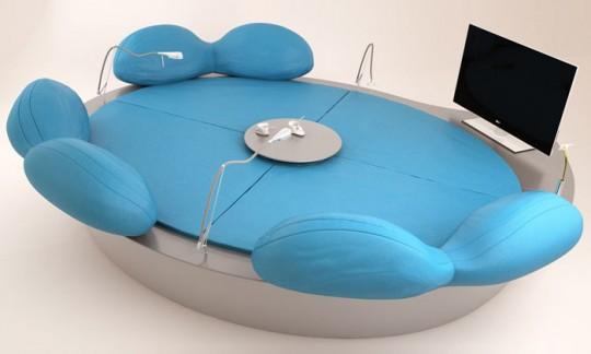 Future systems sofa | le sofa rond high tech