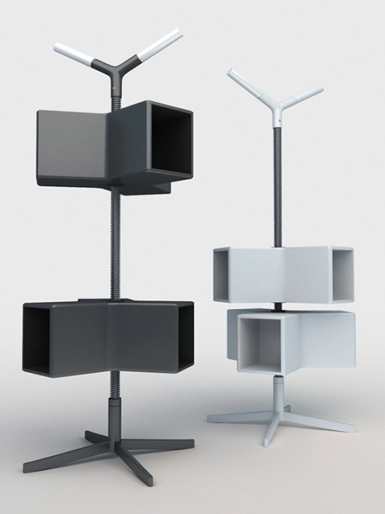 Bibliothèque mobile et modulable Giro One | Designjoo