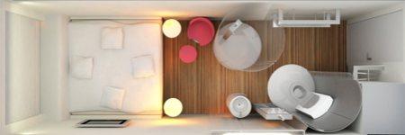 citizen m hotel de luxe design pour tous. Black Bedroom Furniture Sets. Home Design Ideas
