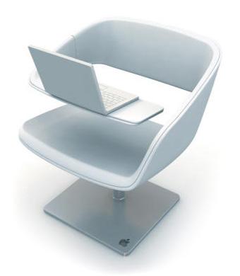 iChair, la chaise design des mac lovers