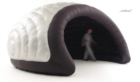 Igloo gonflable d 39 int rieur indoor luna for Interieur igloo