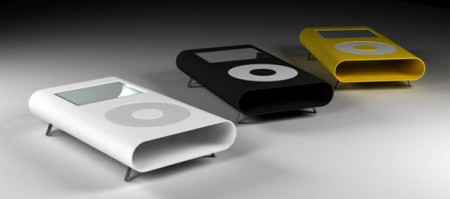 iTable, la table basse en forme d'iPod