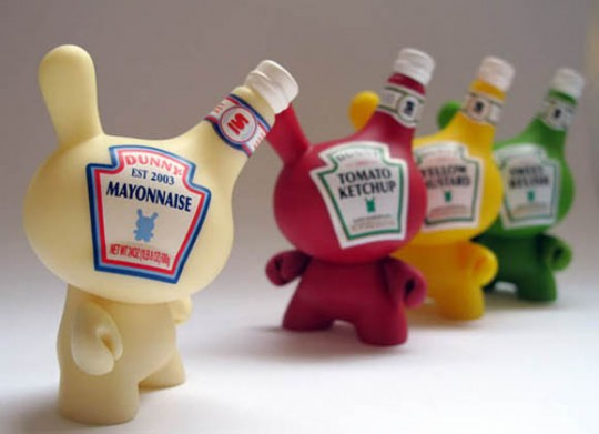 Dunny series | Art toys Heinz by Kidrobot