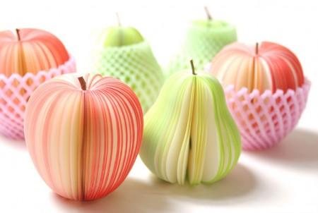 Kudamemo, des memos en forme de fruits