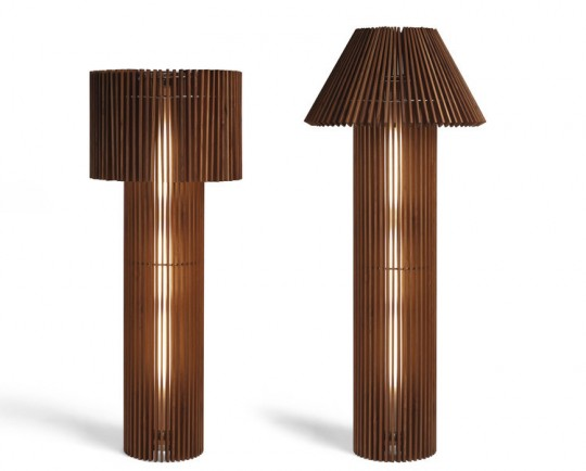 Lampadaire en bois transformable | Wood lamp by Skitsch