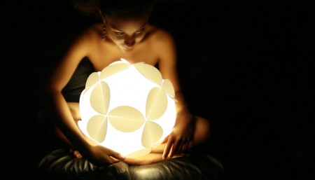 Lampe boule Yumelight