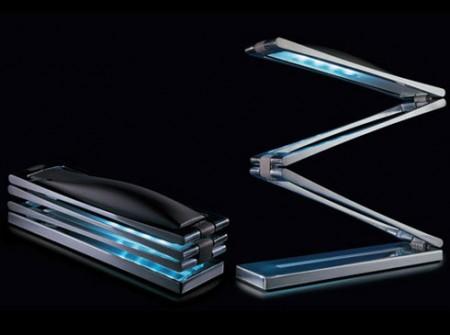 Lampe de bureau pliable Chain par Ilaria Marelli