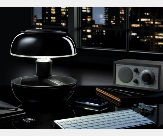 Lampe champignon Joyo noire