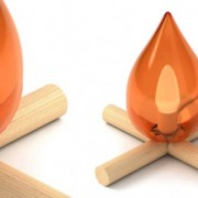 Lampe Fire kit by 5.5 designers