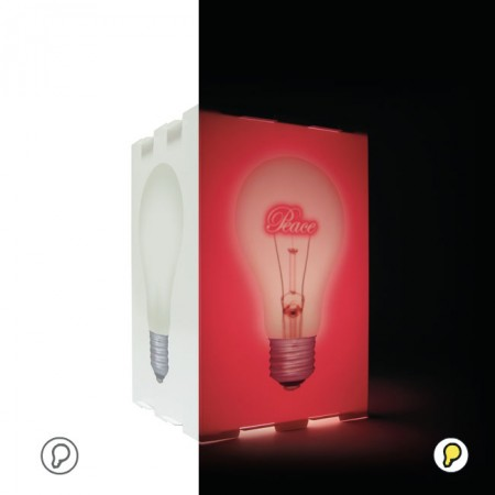 Lampe ON OFF love bulb