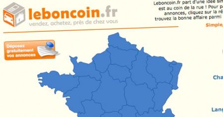 Acheter des meubles d'occasion sur Leboncoin.fr