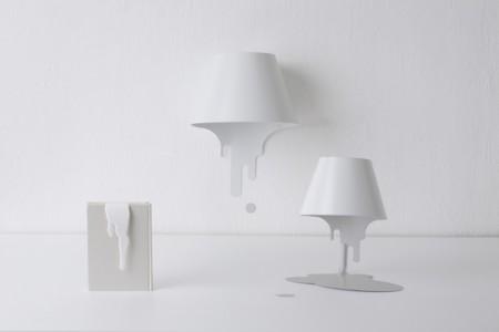 Liquid lamp, la lampe dégoulinante de Kyouei design