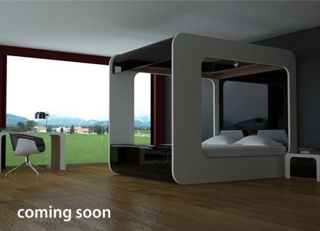 Hi-can, le lit à baldaquin du futur