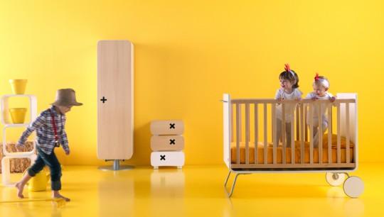 Lit évolutif pour bébé desing BE Cot
