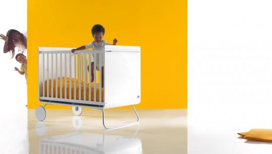 Lit à barreaux évolutif pour bébé design BE Cot