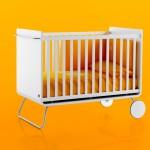 Lit évolutif pour bébé design blanc Be Cot
