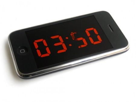 Analog digital clock by Maarten Baas