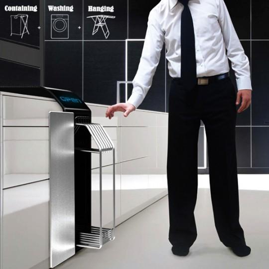 La machine à laver la moins large au monde ?