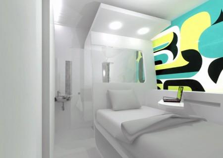 Micro chambre d'hotel Bubble