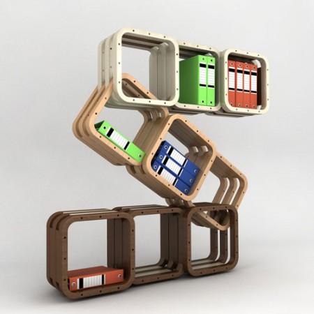 More, le cube modulable par Caporaso design