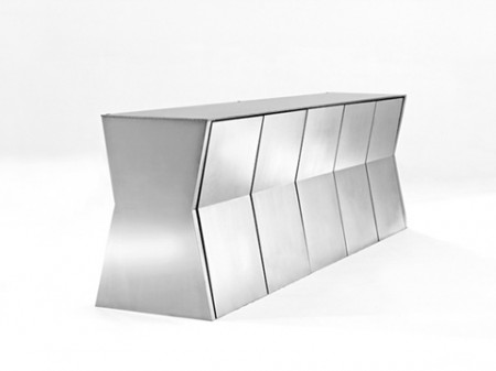 The monolith table, Gioia Meller Marcovicz