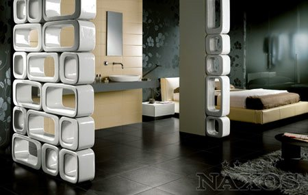 Tendance déco : séparer l'espace avec des modules en céramique
