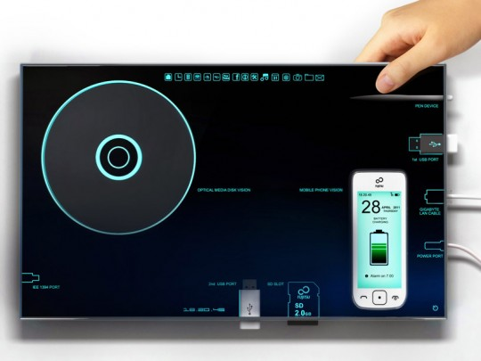 Nesting pc virtual tablet by Sono Mocci | Fujistu design award 2011
