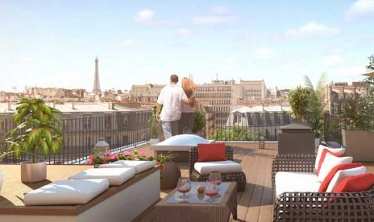 Pereire 17, vive les appartements avec terrasse à Paris !