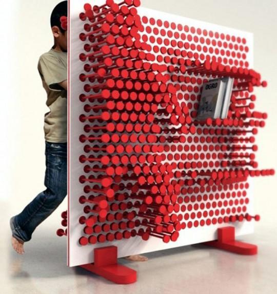 Pin Pres, l'étagère à clous modulable pour les enfants