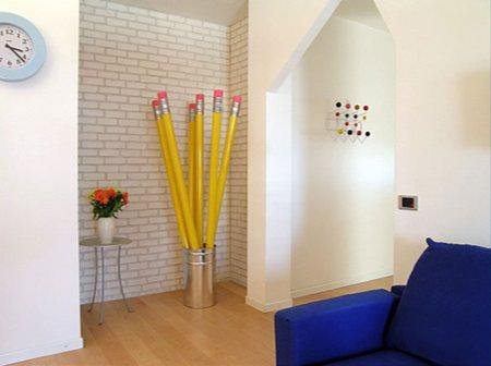 porte manteau crayons papier. Black Bedroom Furniture Sets. Home Design Ideas