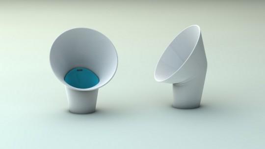 Corbeille à papier design spéciale lancer de boulettes en papier