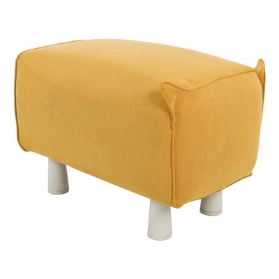 pouf r tro jaune potiok graine d 39 int rieur pas cher. Black Bedroom Furniture Sets. Home Design Ideas