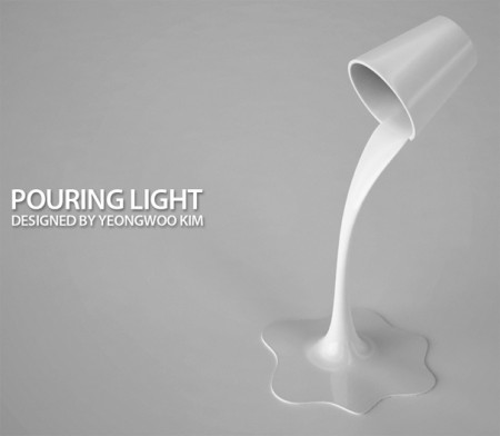 Pouring light by Yeongwoo Kim