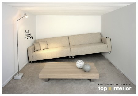 Campagne de pub Top interior