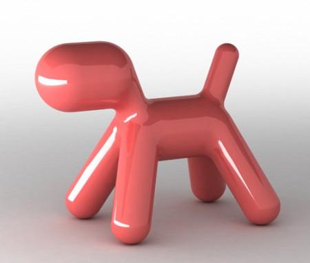 Puppy laqué brillant by Magis