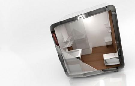 Salle de bain modulaire Box by Yonoh