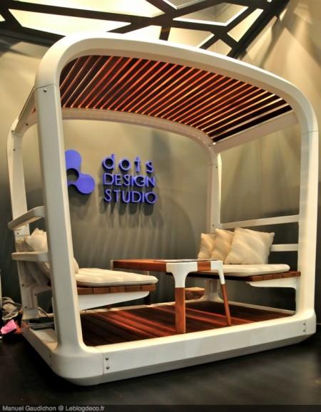 Salon de jardin Salan, Dots design studio