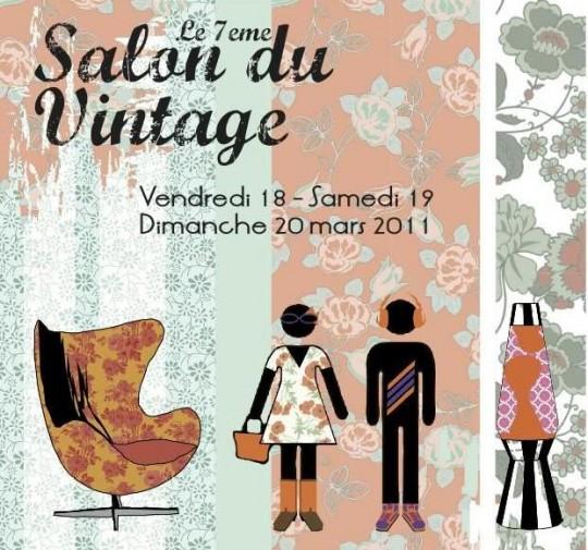 Salon du vintage | 7ème édition à Paris du 18 au 20 mars 2011