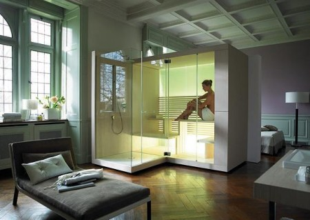 Sauna high tech Inipi par Duravit