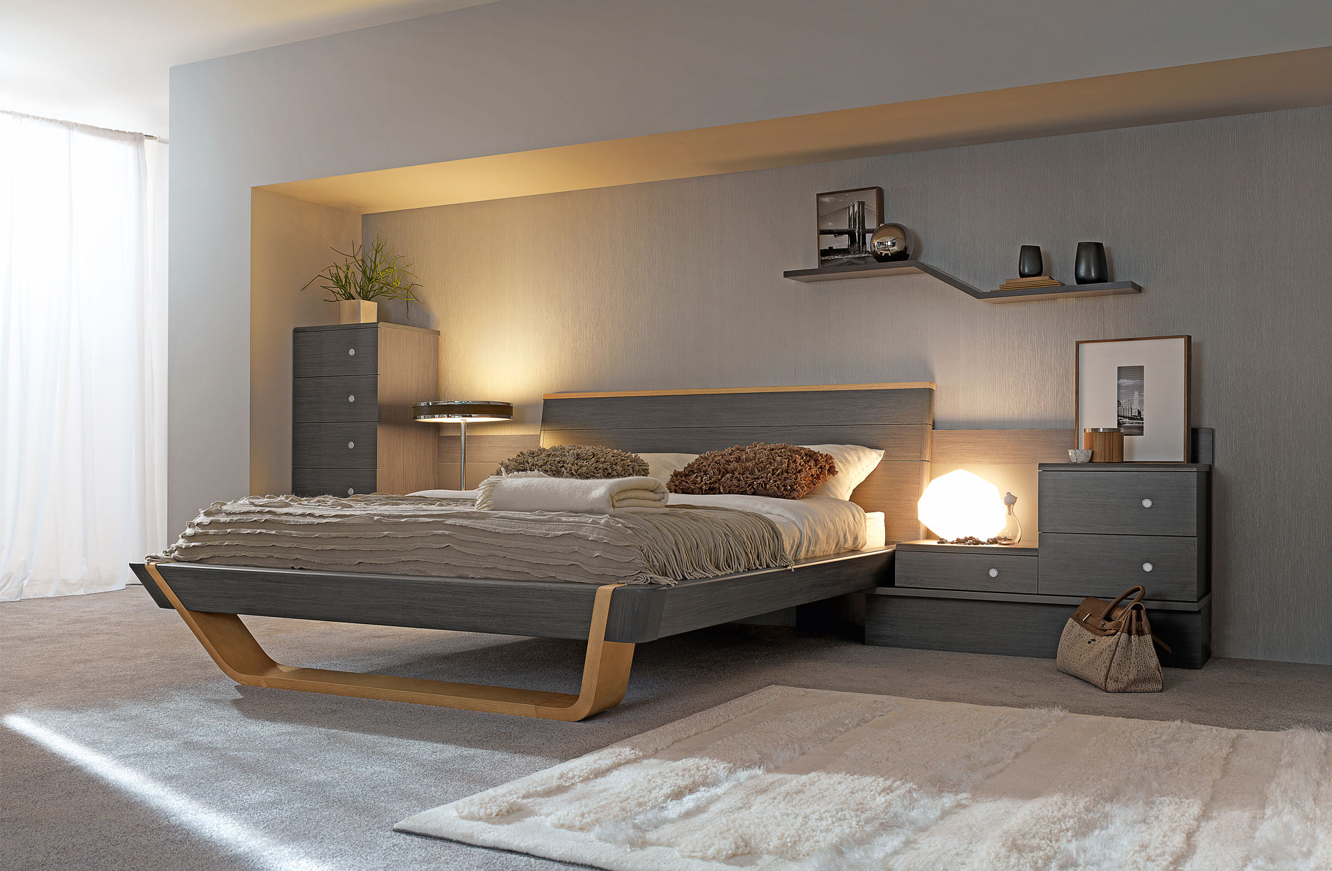 inspiration d co pour une chambre avec des meubles gautier. Black Bedroom Furniture Sets. Home Design Ideas