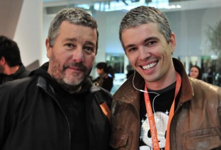 Avec Philippe Starck au salon Maison et Objets