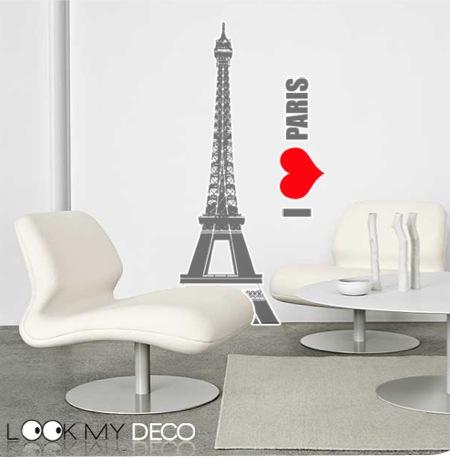 Sticker I love Paris à gagner !