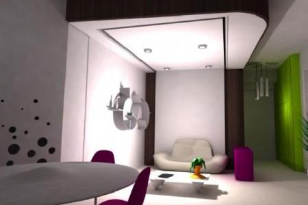 Un tout petit studio restylé par Delphine Maumot