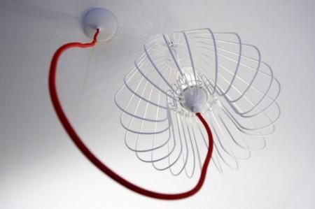 Suspension Light cage par Josselin Deris