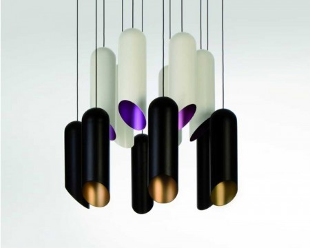 Pipe light par Tom Dixon
