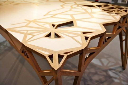 table bureau en palissandre de rio et sycomore captain 39 s world is law. Black Bedroom Furniture Sets. Home Design Ideas
