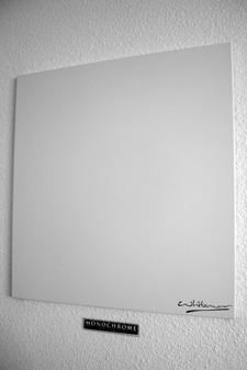 Tableau monochrome cache-compteur électrique