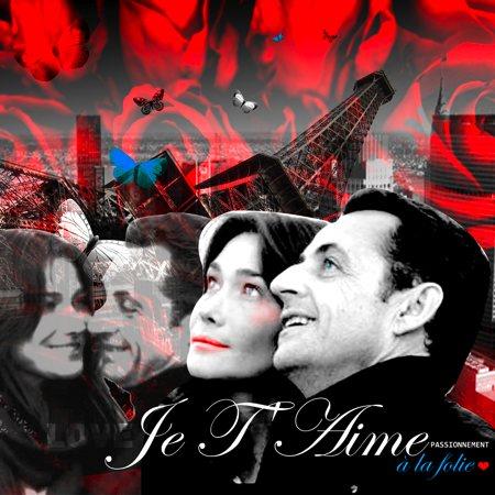 Le tableau de Nicolas Sarkozy et Carla Bruni