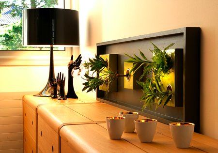 Flowerbox, tableau végétal